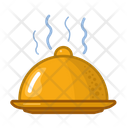 Serve Food Meal Icon