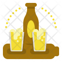 Paddle Beer Set Icon