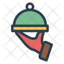 Dish Meal Cover Icon