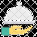 Dish Serve Waiter Icon