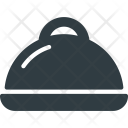 Tray Serve Platter Icon