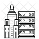 Server Data Online Icon