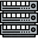 Server Cloudy Connection Icon