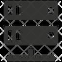 Backup Online Data Base Icon