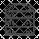 Server Online Data Storage Storage Icon