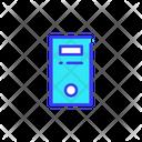 Server Cpu Storage Device Icon