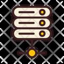 Server Server Connection Data Storage Icon