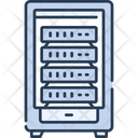 Server Server Room Server Stack Icon