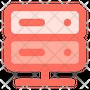 Server Storage Rack Icon
