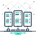 Server Backup Rackmount Server Icon