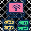 Server Network Data Icon