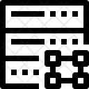 Server Design Data Icon