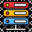Datacenter Server Dataserver Network Icon