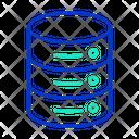Idatabase Server Data Storage Icon