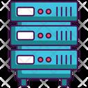 Server Hosting Server Side Icon