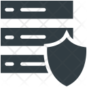 Server Safety Protection Icon
