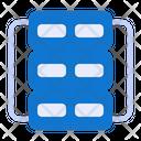 Web Server Marketing Seo Icon