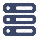 Artificial Intelligent Machine Learning Database Icon