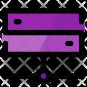 Hosting Storage Internet Icon