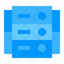 Server Cloud Network Icon
