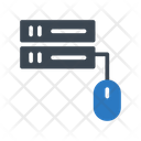 Server Database Mouse Icon