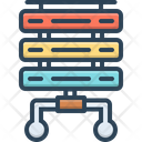 Server Rackmount Server Flowchart Icon
