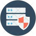 Server Protection Shield Icon