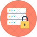 Server Lock Safety Icon