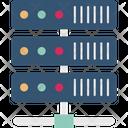 Data Center Hosting Hosting Network Icon