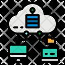 Internet Server Cloud Icon