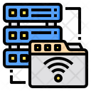 Server Artificial Intelligence Icon