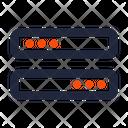 Hardware Storage Server Icon