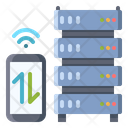 Server Traffic Hosting Icon