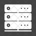 Server Database Communication Icon