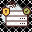 Server Verified Server Verified Database Icon