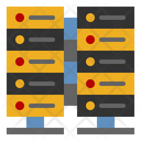Server Big Data Hosting Icon