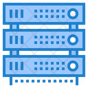 Server Database Network Icon