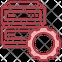 Server File Storage Data Icon