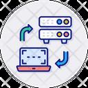 Server Center Cloud Icon