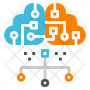 Server Cloud Connect Icon