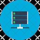 Server Computer Global Icon