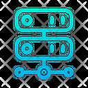 Online Data Online Storage Data Storage Icon