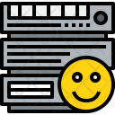Server Good Cloudy Icon