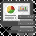 Server Analysis Analytics Graphs Icon