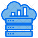 Cloud Server Data Base Icon