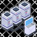 Server Statistics Server Analytics Server Graph Icon