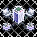 Server Statistics Server Analytics Storage Analytics Icon