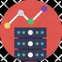Server Analytics Seo Icon