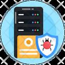 Database Server Antivirus Server Protection Icon