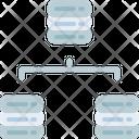 Servers Parallel Storage Icon